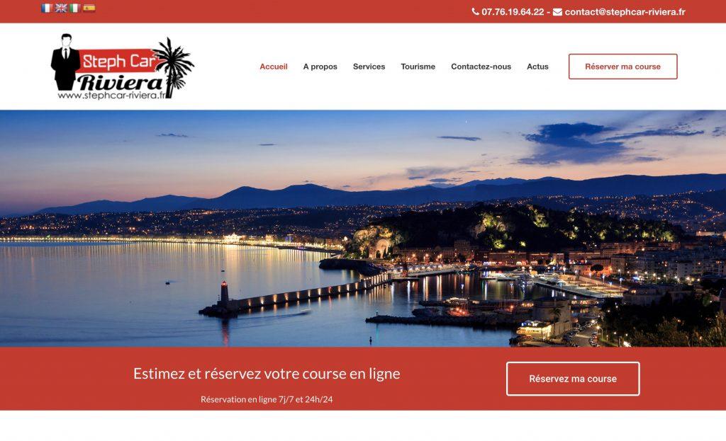 création site internet vtc chauffeur